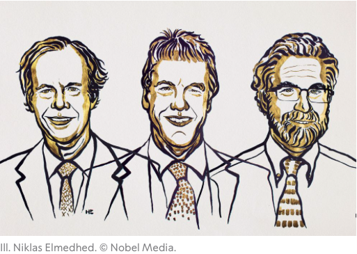 image from 2019 Nobel Prize in Medicine Awarded Jointly to William Kaelin Jr, Sir Peter Ratcliffe, and Greg Semenza