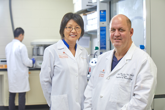 image from Drs. Ju and Eltzschig Awarded NIH Grant to Study microRNAs in the Treatment of Perioperative Liver Injury