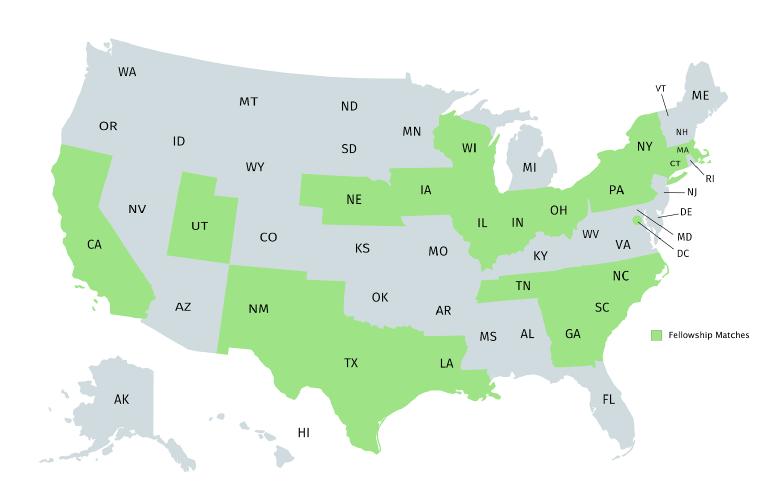 Fellowship Map