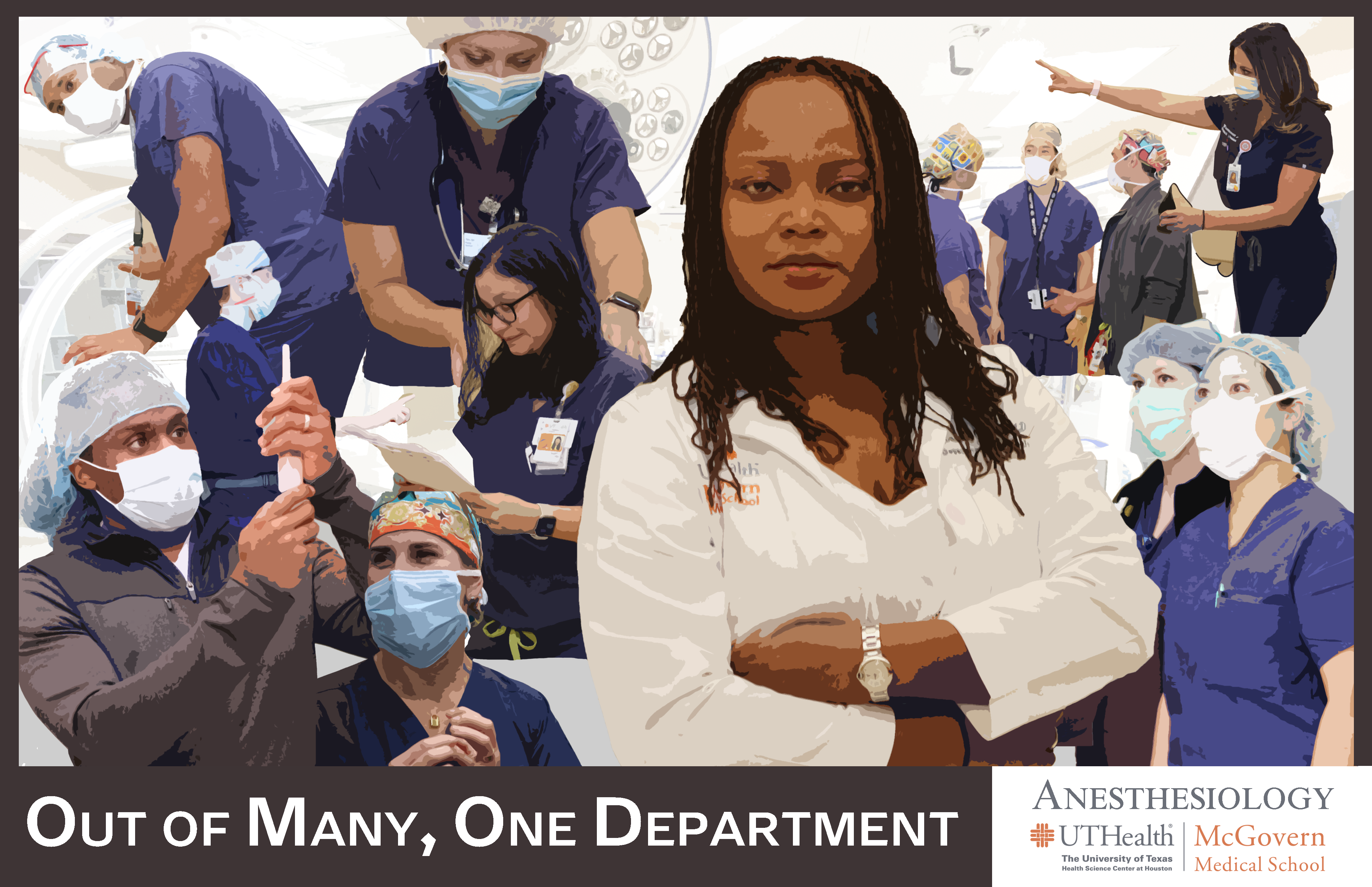 Department of Anesthesiology Diversity Graphic