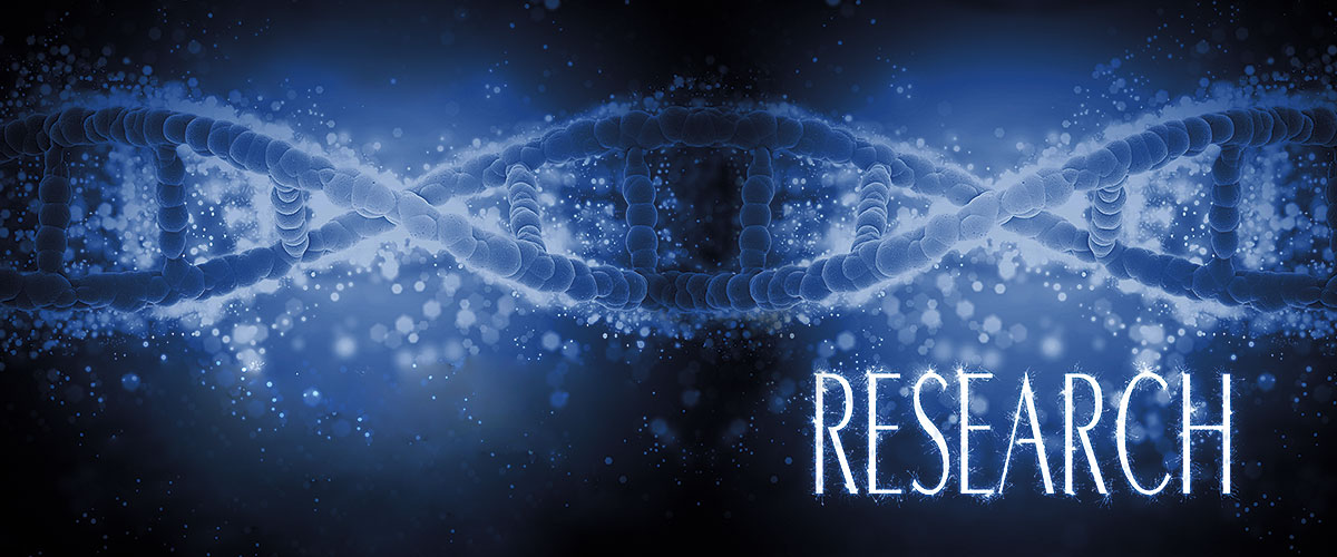 """dna strand with the word """"research"""""""