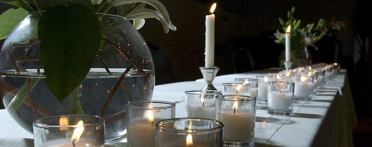 Picture of Candle table at Cadaver Memorial