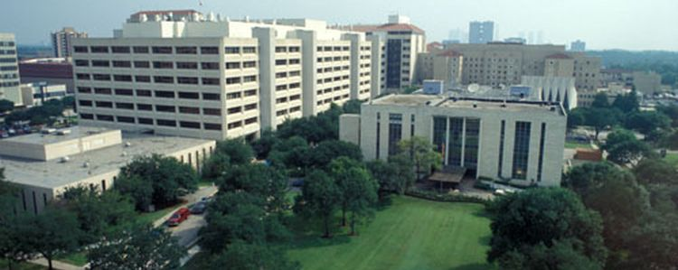 Ariel View of McGovern Medical School Building and Jesse Jones Library Building