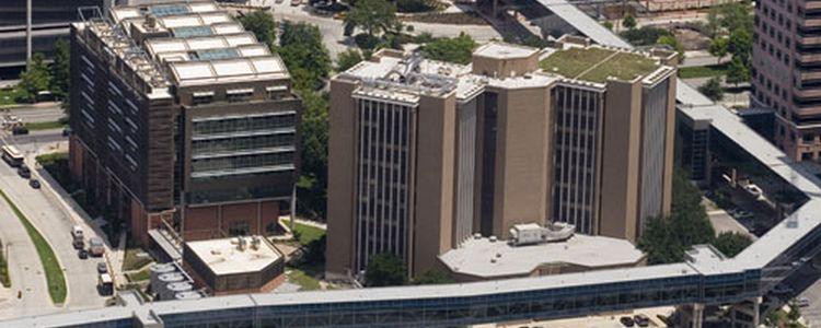 Ariel View of Cizik School of Nursing