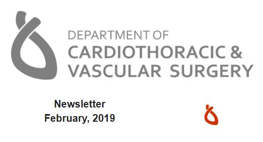 image from February, 2019 Department Newsletter