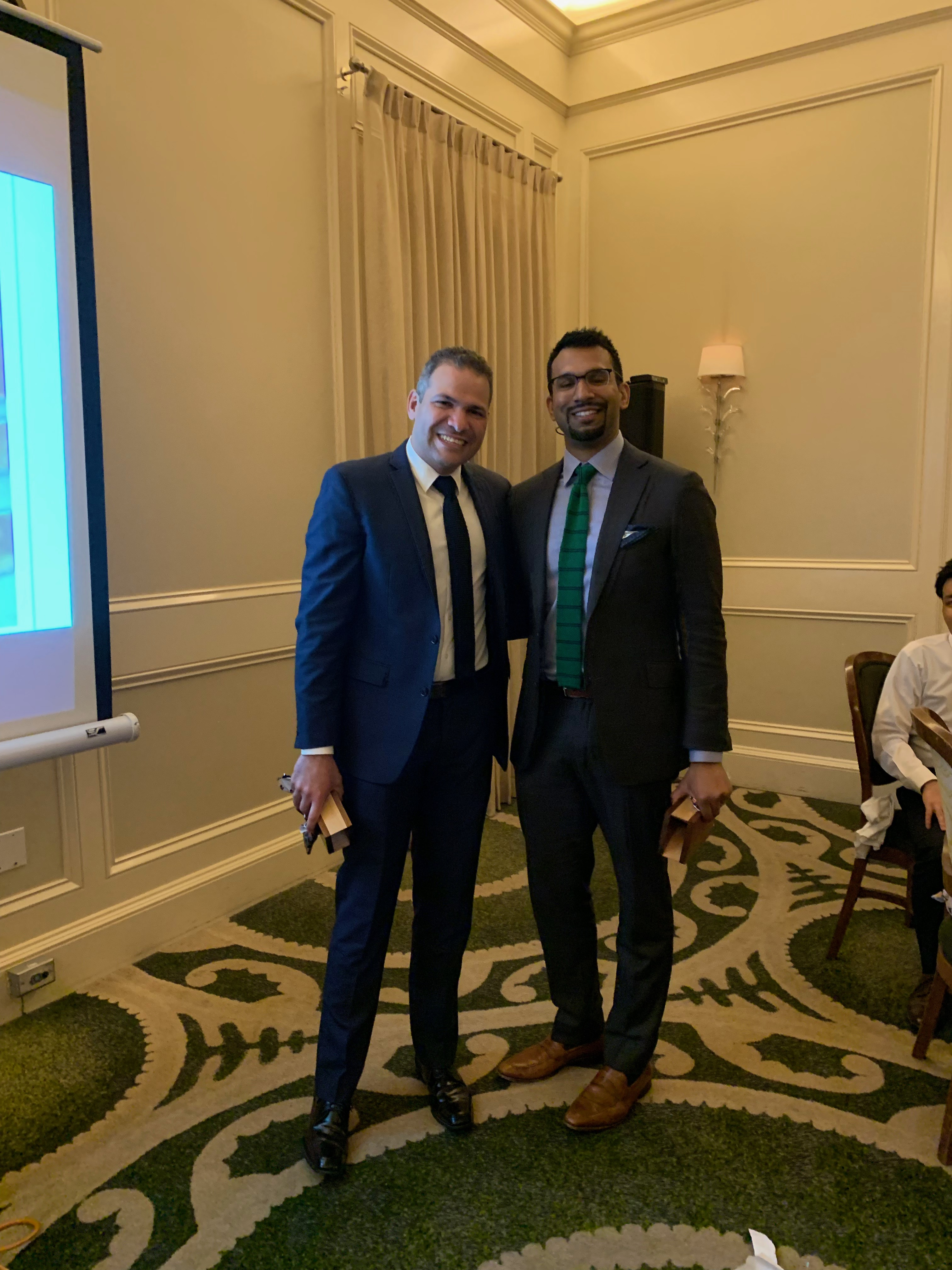 image from 2019 Thoracic Surgery Fellowship Graduation Celebration