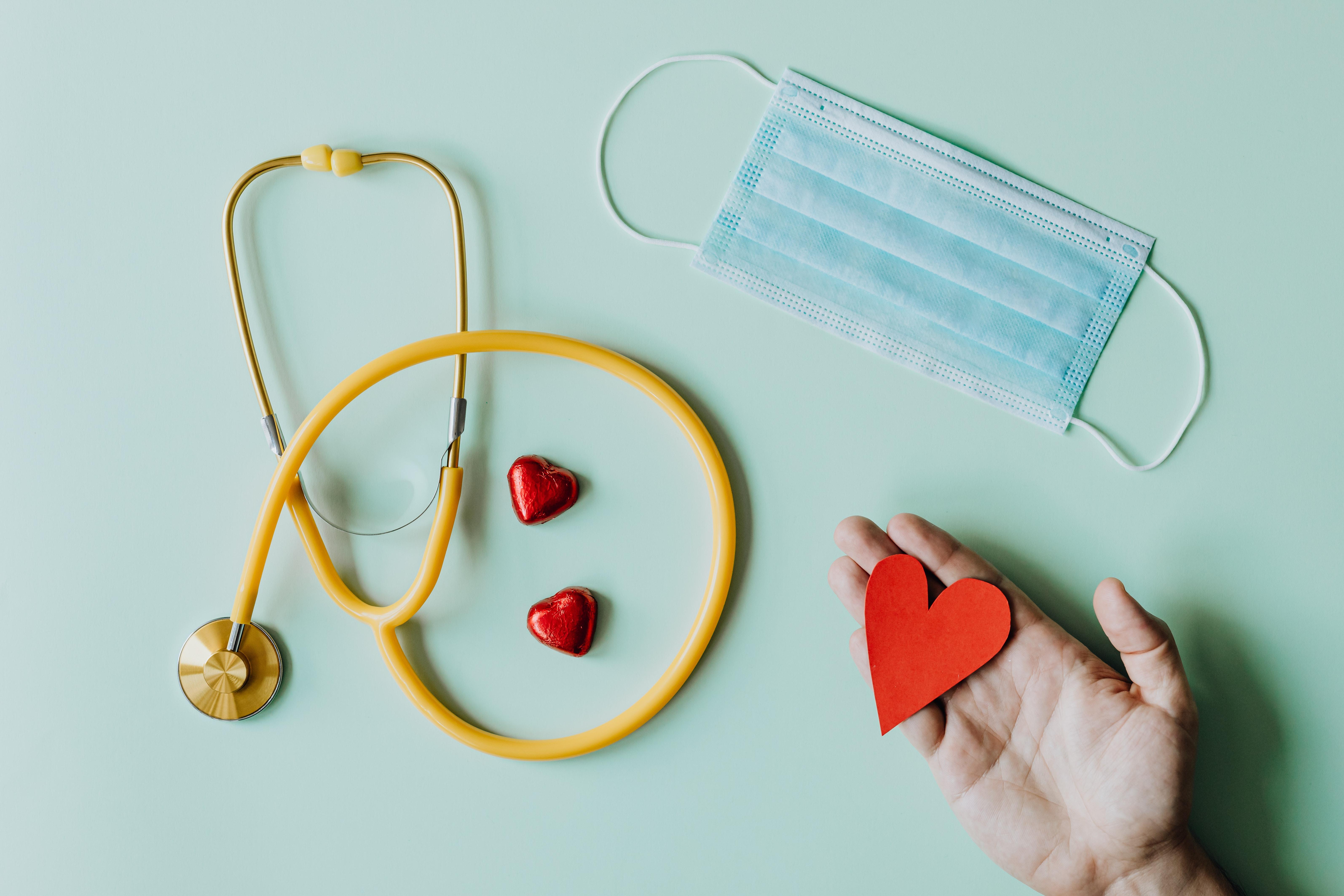 stethoscope & mask