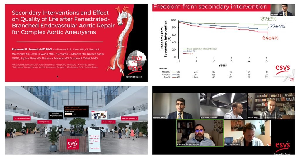 image from European Society for Vascular Surgery Annual Meeting – 2021