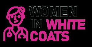 Women in White Coats Logo