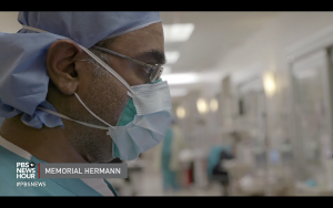 Dr. Doshi in the ICU
