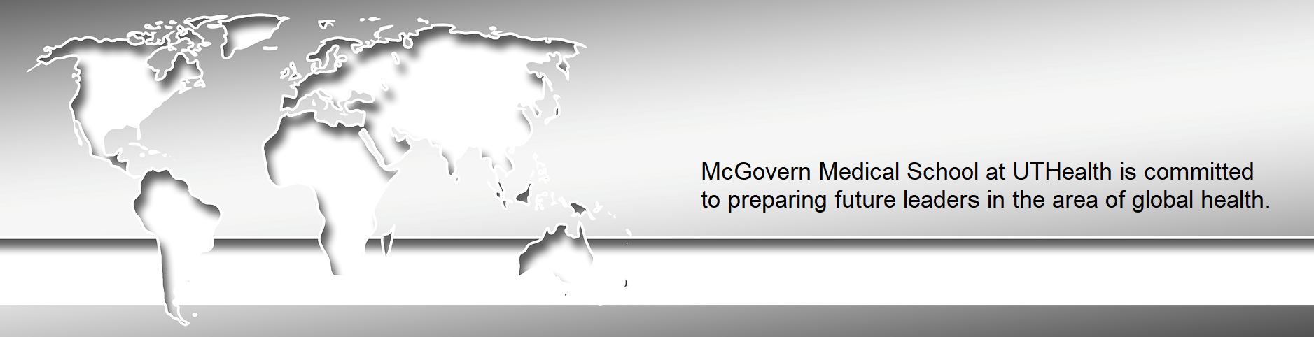 McGovern med is committed to preparing future leaders in the area of global health
