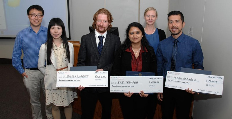 image from Dean's Excellence in Research Award