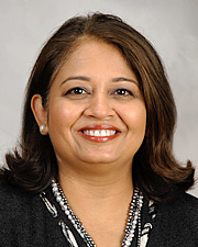 Image of Dr. Bela Patel, Division Director of Critical Care Medicine at McGovern Medical School at The University of Texas Health Science Center at Houston. Dr. Patel is the Executive Director of Critical Care for all of Memorial Hermann Health System in Houston, Texas