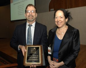 image from Don Molony, MD., receives the 2017 Herbert L. and Margaret W. DuPont Master Clinical Teaching Award