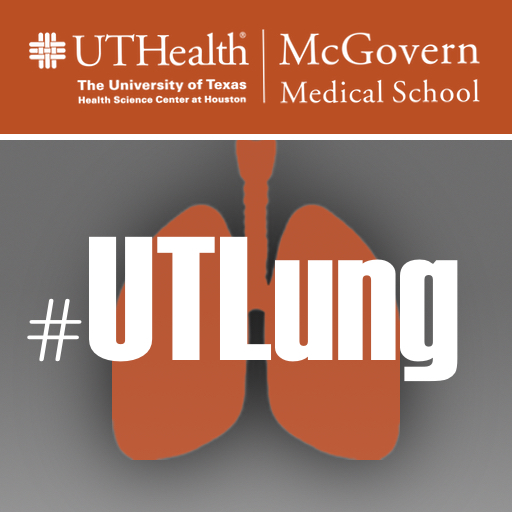 Image of Instagram #UTLung UTHealth McGovern Medical School Social Media Logo