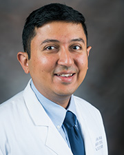 Profile Photo of Dr. Pushan Jani, Director of Interventional Pulmonology, in the Divisions of Pulmonary Critical Care & Sleep Medicine in the Department of Internal Medicine at McGovern Medical School at UTHealth in Houston, Texas
