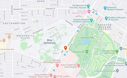UTHealth Neurosciences Texas Medical Center map