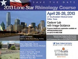 image from Lone Star Rhinology Course Attracts a National Audience