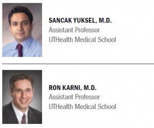 Sancak Yuksel, MD, and Ron Karni, MD