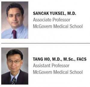 image from Dr.   Yuksel and Dr.   Ho Receive Dean's Teaching Excellence Awards