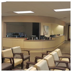image from UT Physicians Otolaryngology at Texas Medical Center Clinic Redesign Improves the Patient Experience