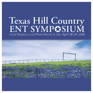 2018 Texas Hill Country ENT Symposium logo