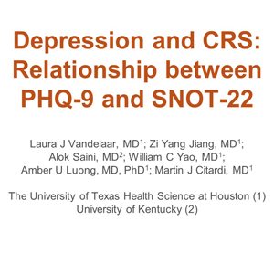 image from The Importance of Depression Screening in Rhinology Practice