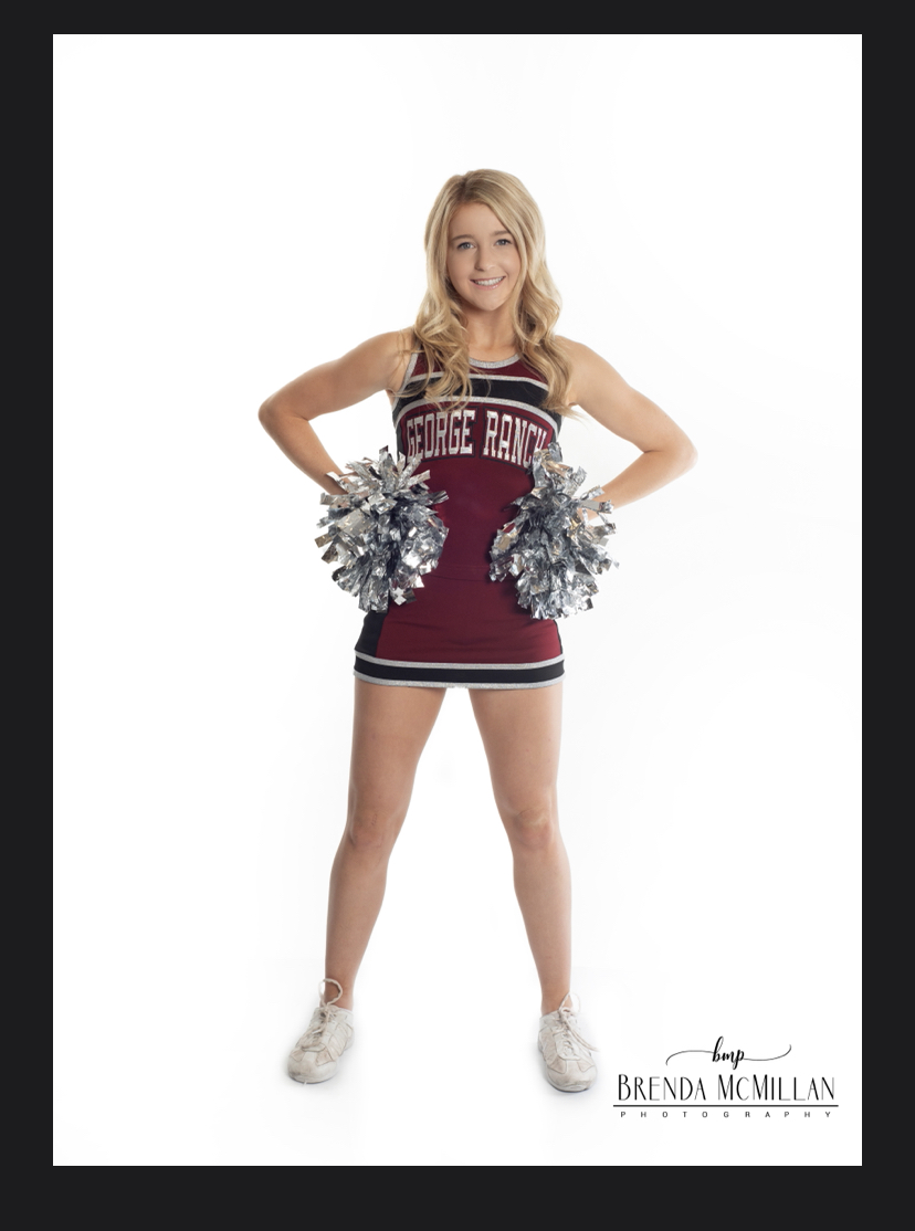 image from Even flying in the air, nothing keeps this cheerleader down