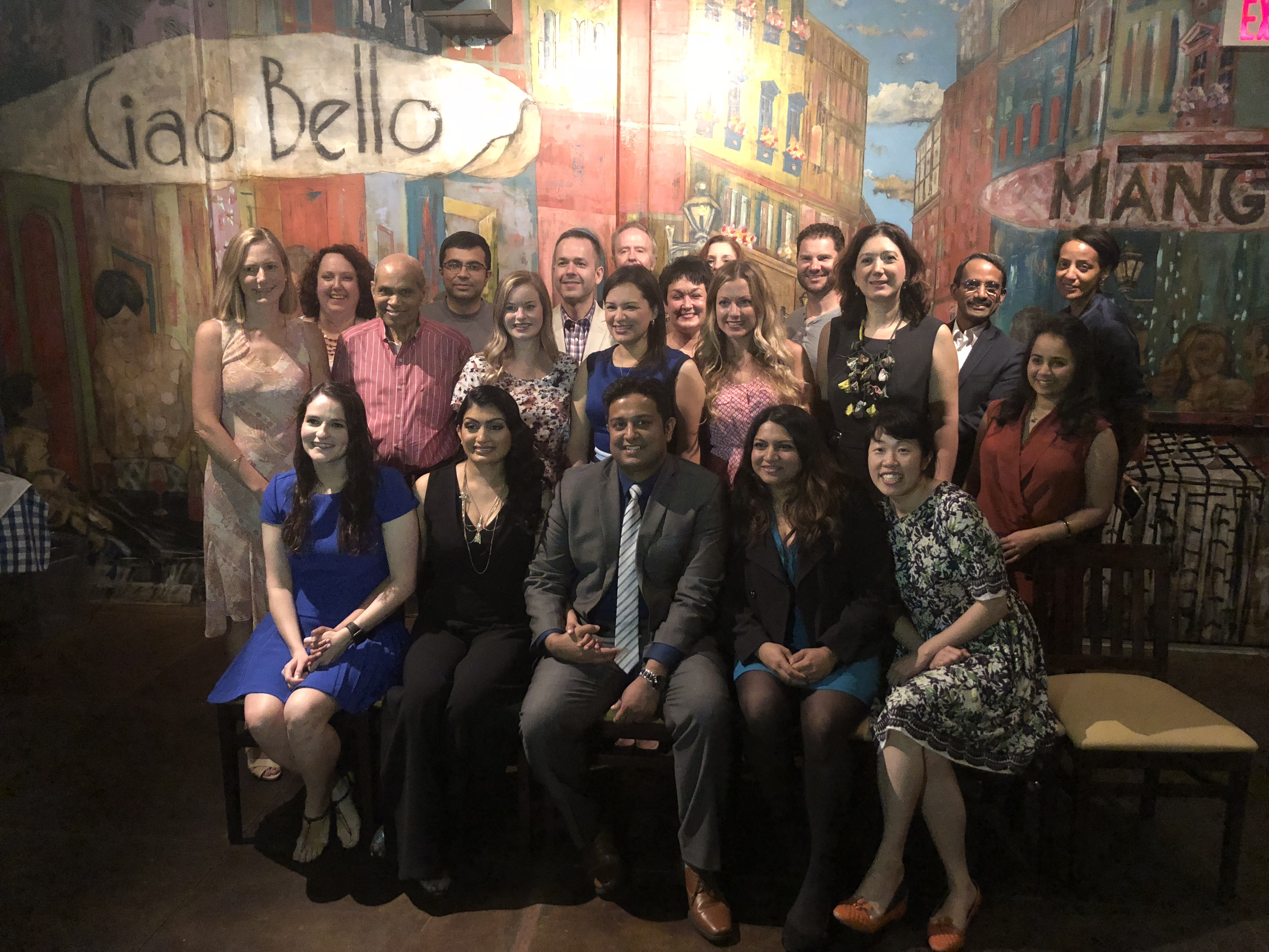 Picture of the faculty, staff, and graduating fellows
