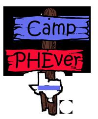 Camp PHEver logo