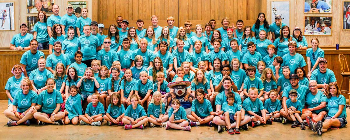 Camp PHEver 2016 group photograph