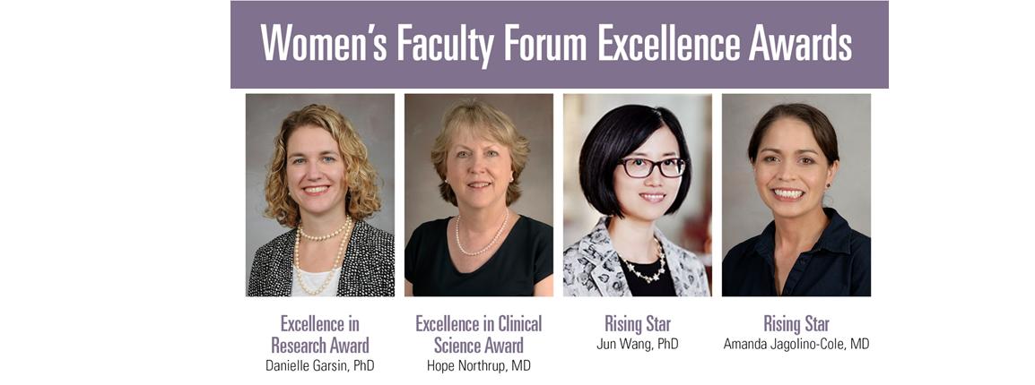 women faculty forum excellence awards