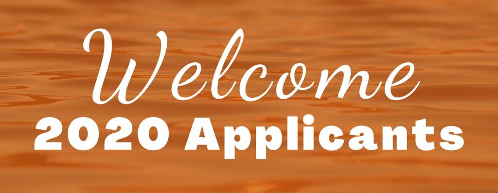 2020 residency applicant banner