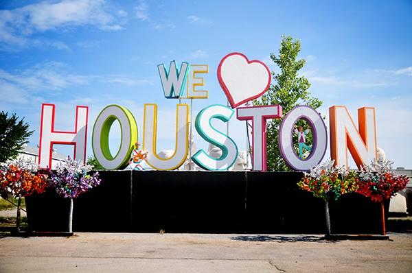 we love houston landmark