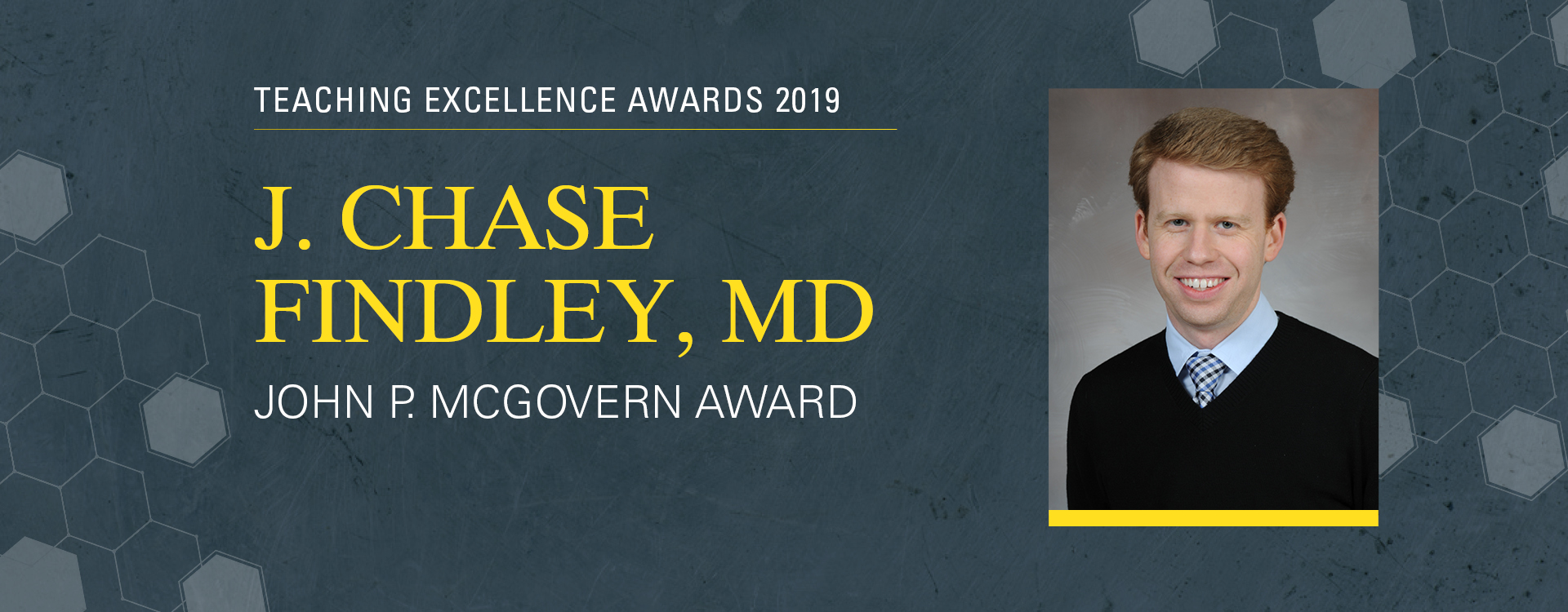 Dr. Findley Teaching Excellence Award 2019