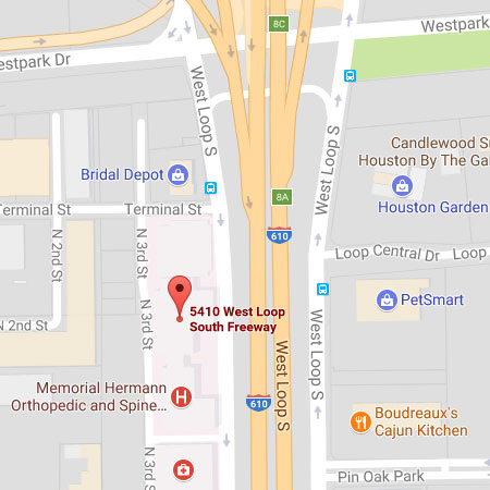 Google Map for 5410 West Loop South
