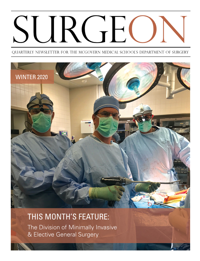 image from SurgeON Newsletter WINTER 2019
