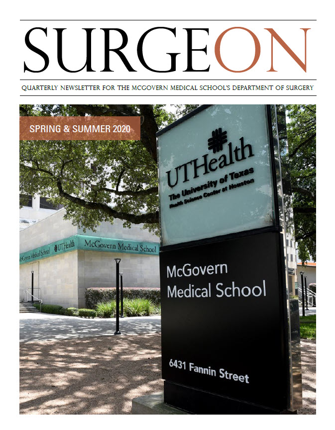 image from SurgeON Newsletter SPRING & SUMMER 2020