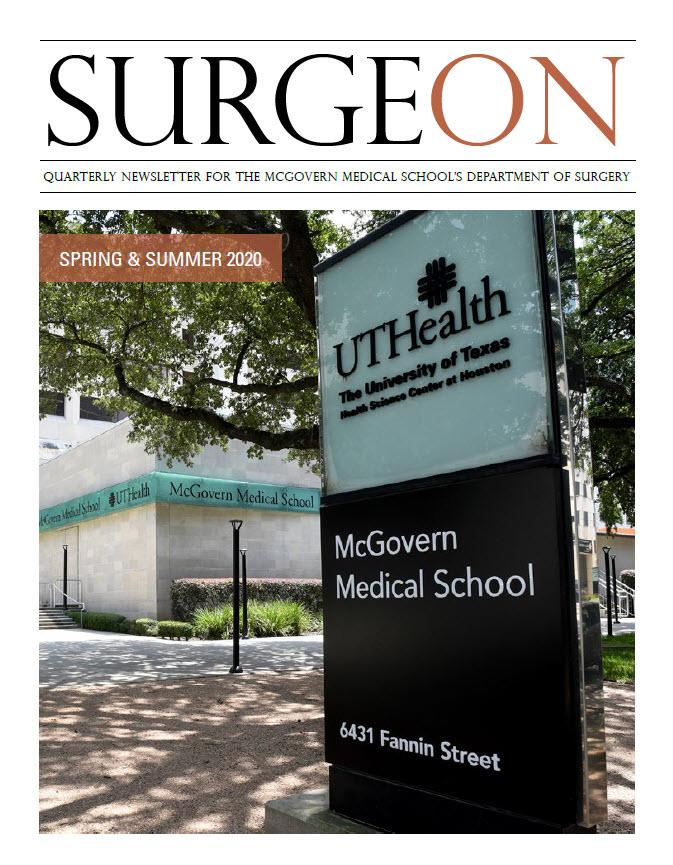 SurgeON Newsletter Spring & Summer 2020