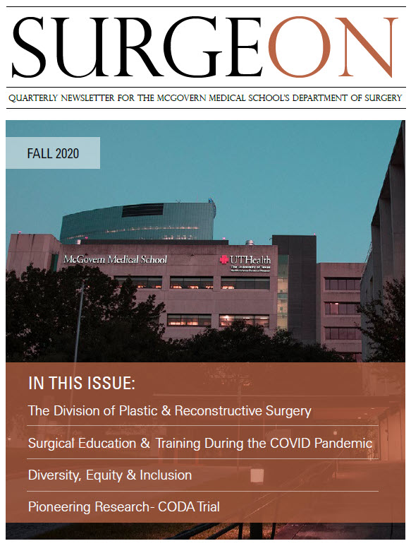 image from SurgeON Newsletter Fall 2020