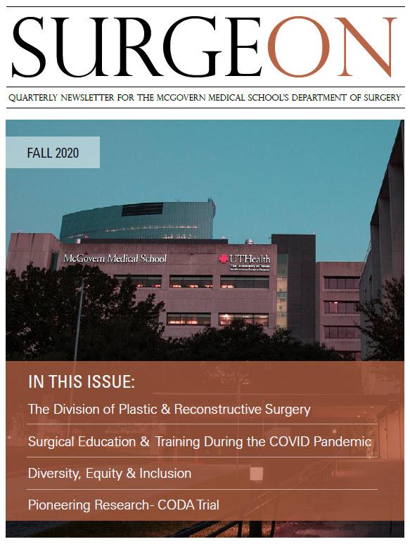 SurgeON Newsletter FALL 2020