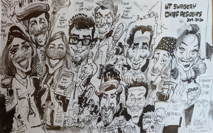 Residents Caricature 2020