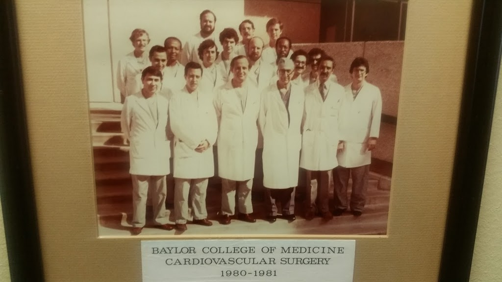 Baylor College of Medicine Cardiovascular Fellows 1980-1981, Dr. Roger Belizaire (3rd row, left)