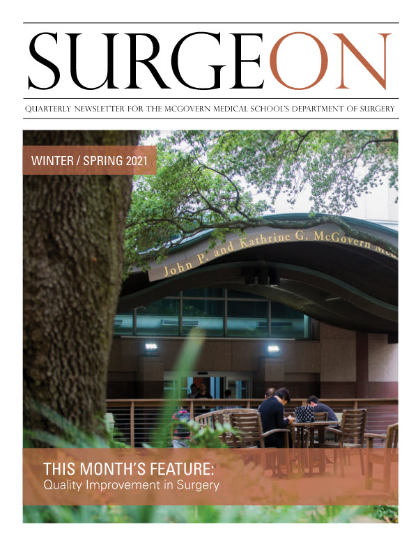 image from SurgeON Newsletter Winter / Spring 2021