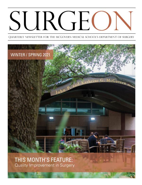 SurgeON Newsletter Winter / Sppring 2021