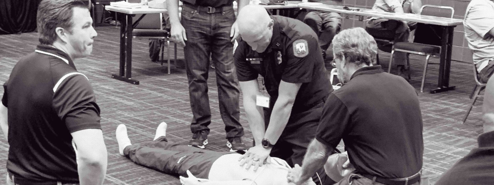 Chest compressions photo
