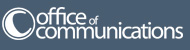 Office of Communications logo