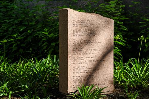 Webber memorial