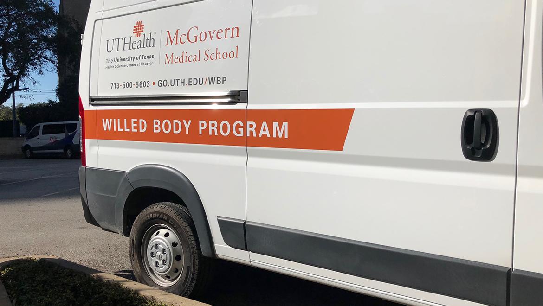 New Van for the Willed Body Program