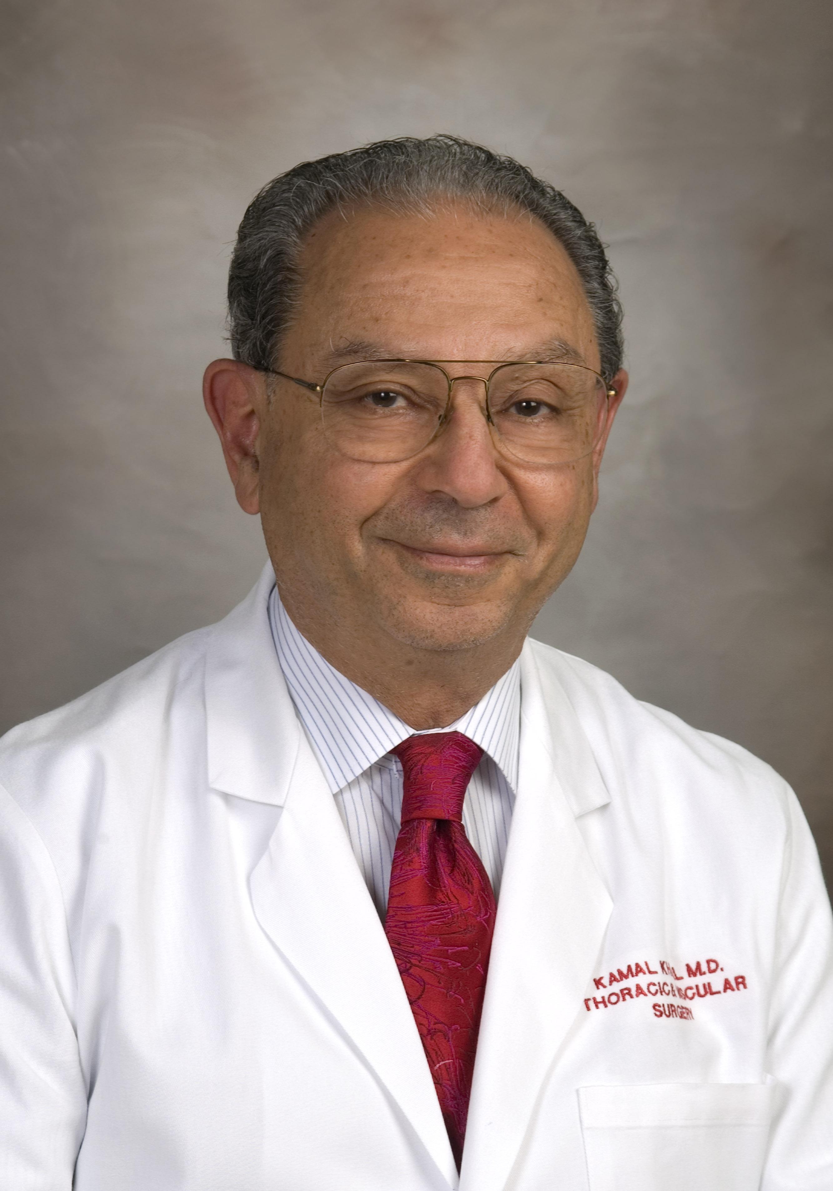 Headshot for Dr. Kamal G. Khalil